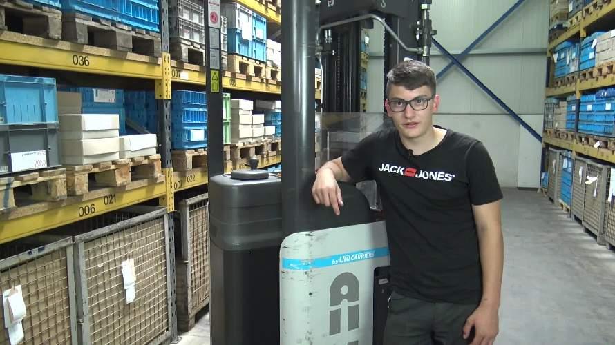 Video: Ausbildung zur Fachkraft für Lagerlogistik bei Schauerte
