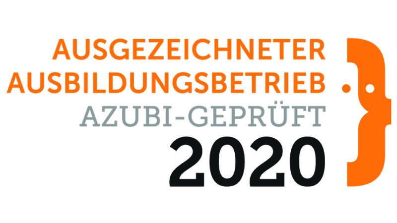 Ausgezeichneter Ausbildungsbetrieb 2020