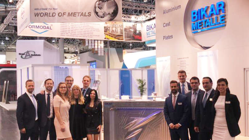 Aluminium Messe in Düsseldorf