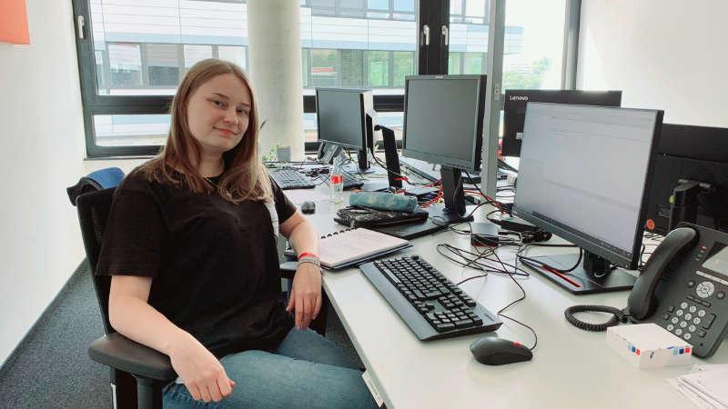 Vorstellung Marie Scholz - Dual Studentin Wirtschaftsinformatik
