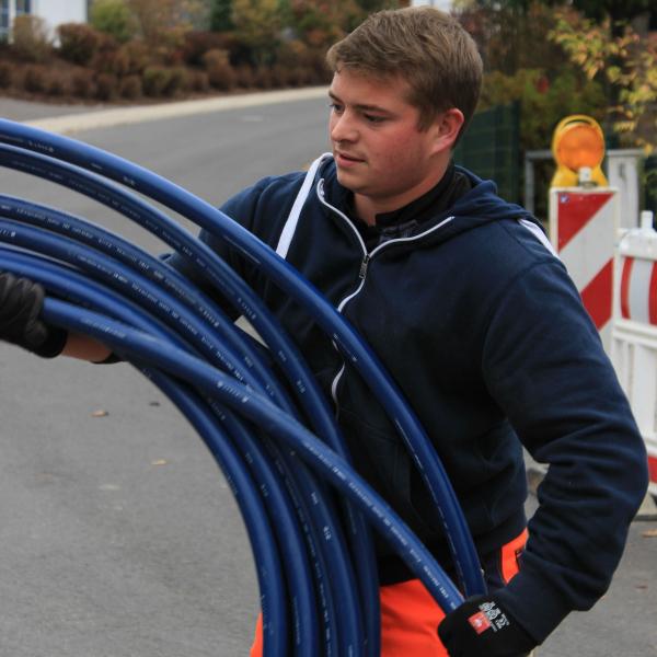 Martin Rotfuß - Auszubildender Fachkraft für Wasserversorgungstechnik