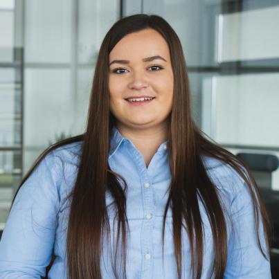 Tessa Trapp - Auszubildende Industriekauffrau