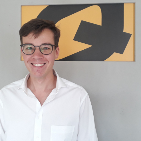 Julian Haase - Azubi zum Industriekaufmann