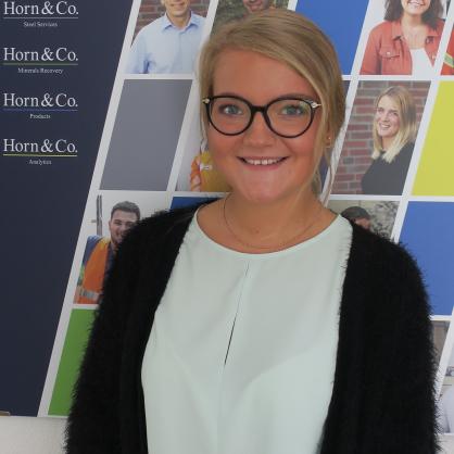 Hannah Kinkel - Auszubildende zur Kauffrau für Büromanagement
