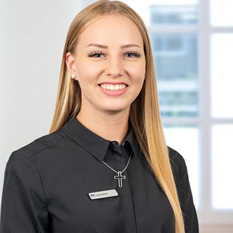 Luisa Kramer - Auszubildende zur Bankkauffrau
