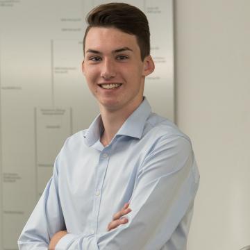 Jonas Fischbach - Auszubildender zum Industriekaufmann