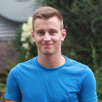Luc Vollmer - Auszubildender zum Industriekaufmann