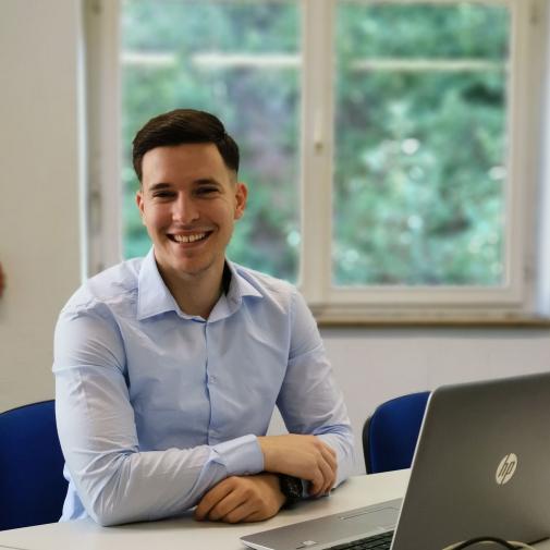 Borislav Milosevic - Ausbildung zum Industriekaufmann