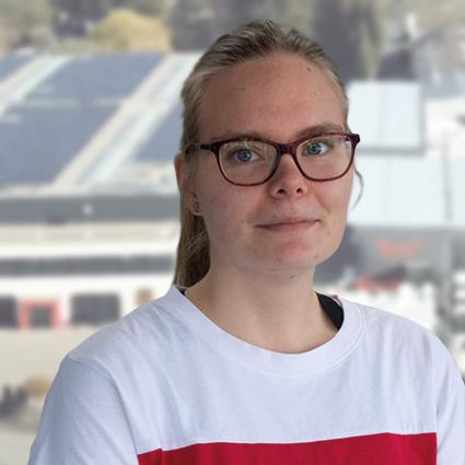 Sarah Mauksch - Auszubildende Fachinformatikerin