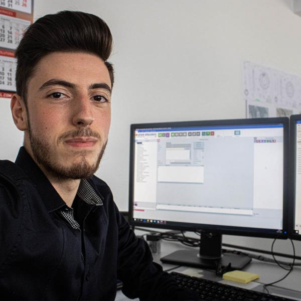 Panagiotis Papadopoulos - Azubi Industriekaufmann