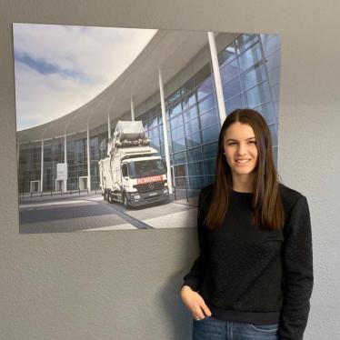 Philine Weber - Auszubildende Industriekauffrau