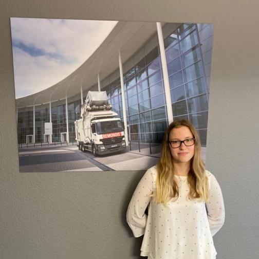 Natascha Bosch - Auszubildende Industriekauffrau