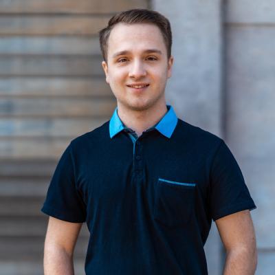 Kamill Garstka - Auszubildender Kaufmann für IT-System-Management