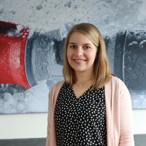 Jana Berens - Auszubildende zur Industriekauffrau