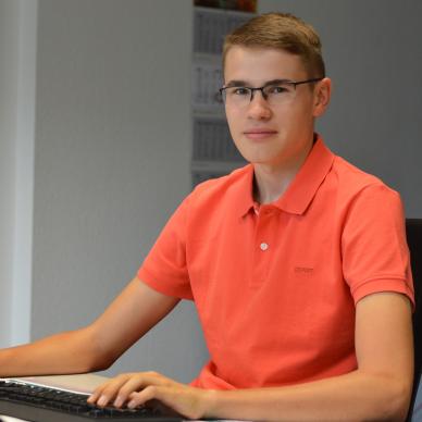 Janik Schulte - Auszubildender Industriekaufmann