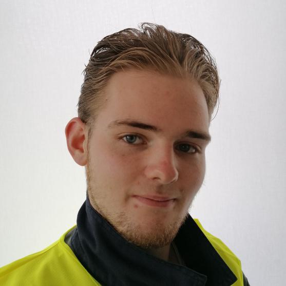 David Matthias Späth - Auszubildender Fachkraft für Kreislauf- und Abfallwirtschaft