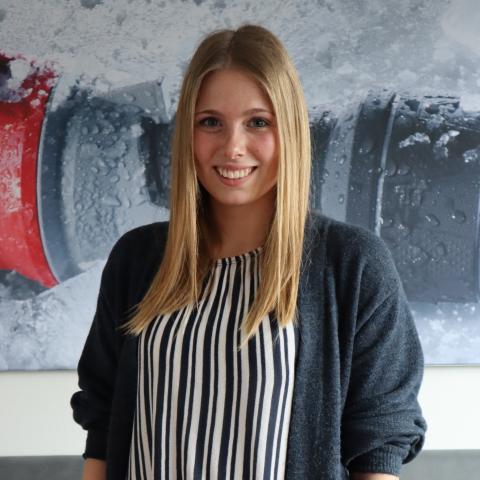 Loreen Hennecke - Auszubildende zur Industriekauffrau