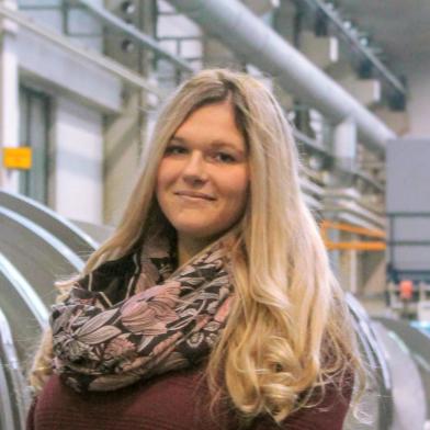 Angelina Hanses - Auszubildende zur Industriekauffrau