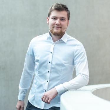Marc Müller - Auszubildender zum Informationselektroniker